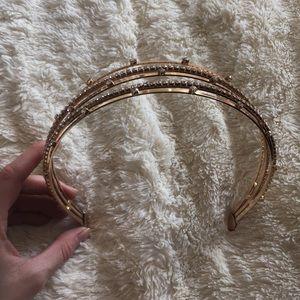 Bebe gold headband